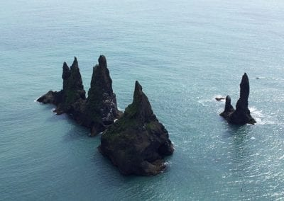 Taking in the view of Reynisdrangar on our Vik Express Tour
