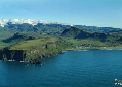 The beautiful landscape of Vik in Iceland